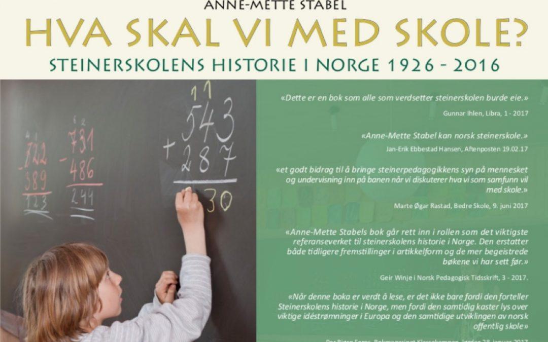 """Anbefalt bok: """"Hva Skal Vi med Skole?"""""""